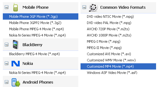 video converter for Sony Xperia TL