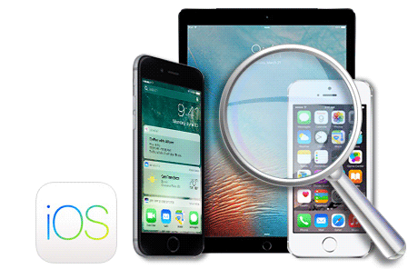recover data by scanning iOS device directly