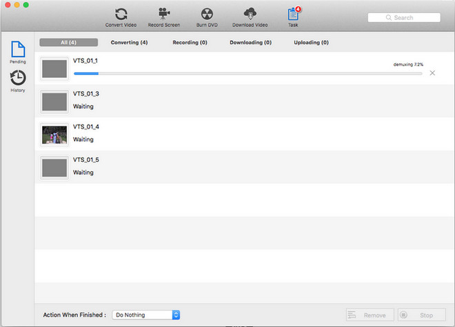 Converting VOB files to MP4 Mac